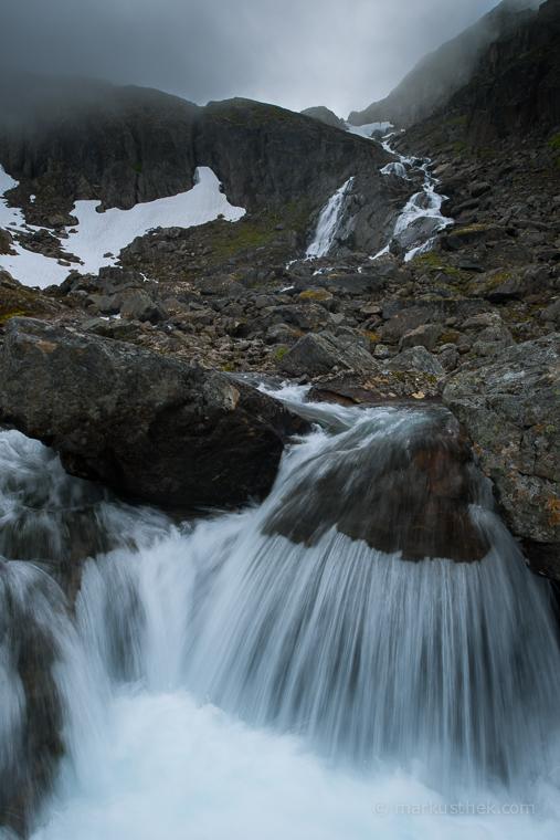 Auf der Insel Seiland im äußersten Norden Norwegens.