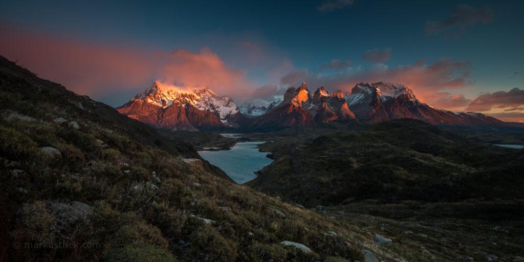 Landschaftsfoto Torres del Paine