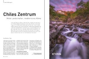 Reportage über Chiles Zentrum