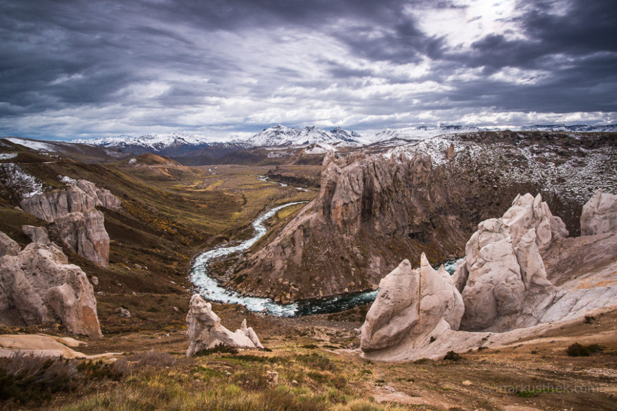 Das Maule Tal in Chiles Zentrum.