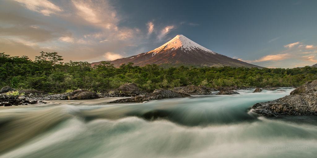 Der Vulkan Osorno in Chile