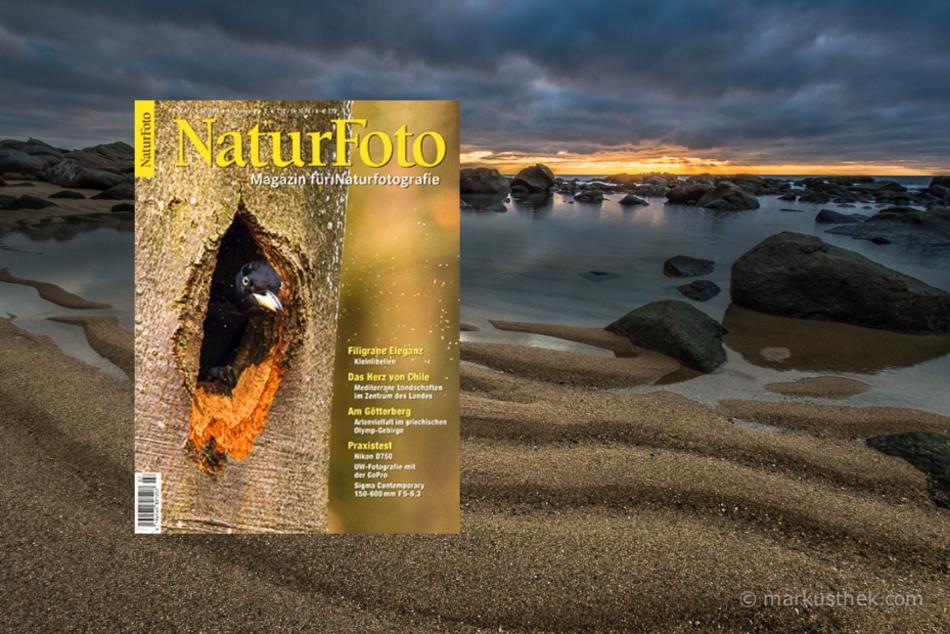 Tolle Landschaftsfotografien über Chile gibt es in dieser Ausgabe des NaturFoto-Magazins.