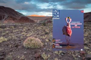 Eine Reportage im renommierten Universum-Magazin mit Landschaftsaufnahmen aus der Atacamawüste.