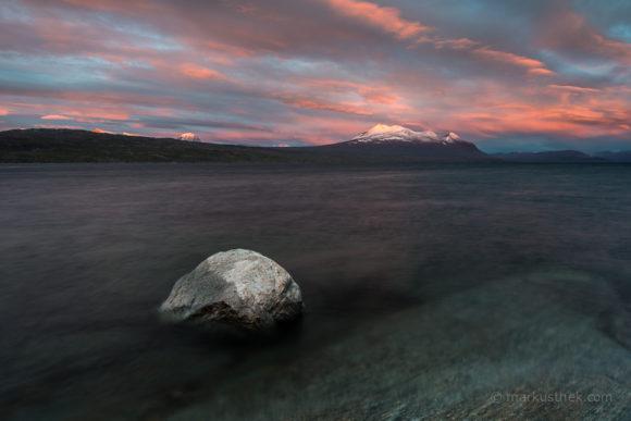 Der Berg Akka im Stora Sjöfallet Nationalpark