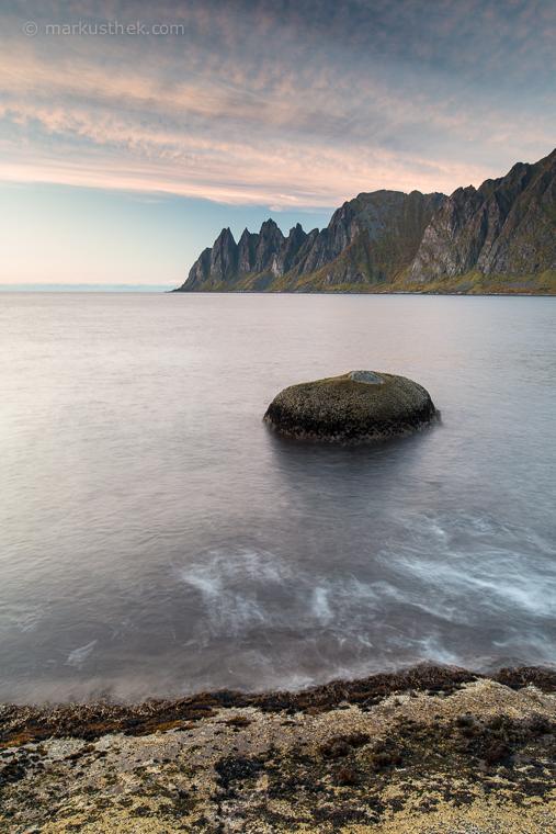 Landschaftsfotografie auf der Insel Senja.