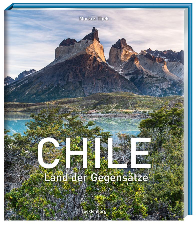 Bildband über Chile. Edles Buch mit wundervollen Fotos.